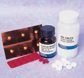 Tampon PBS en tablettes